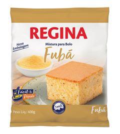 MISTURA BOLO FUBÁ REGINA
