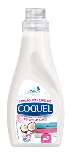 LAVA ROUPAS LÍQUIDO COCO COQUEL