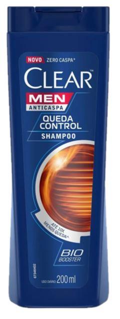 SHAMPOO ANTICASPA QUEDA CONTROL CLEAR