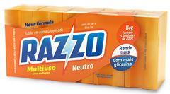 SABÃO TABLETE GLICERINADO NEUTRO RAZZO