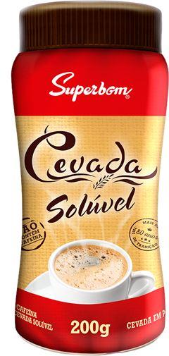CAFÉ DE CEVADA SOLÚVEL POTE SUPERBOM