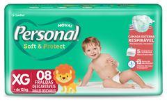 FRALDA REGULAR XG PERSONAL BABY