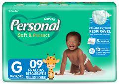 FRALDA REGULAR G PERSONAL BABY
