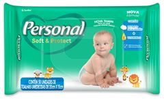 TOALHA UMEDECIDA BABY PERSONAL