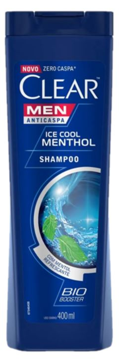 SHAMPOO ANTICASPA ICE COLL MENTHOL CLEAR