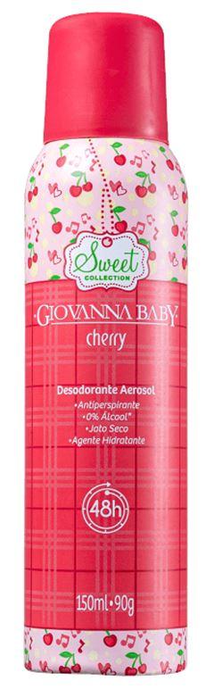 DESODORANTE AEROSOL CHERRY GIOVANNA BABY