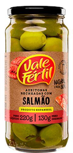 AZEITONA VIDRO RECHEADA SALMÃO VALE FÉRTIL