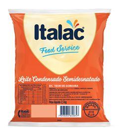 LEITE CONDENSADO SEMIDESNATADO BAG ITALAC