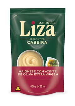 MAIONESE CASEIRA SACHÊ LIZA