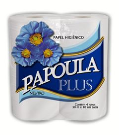 PAPEL HIGIÊNICO NEUTRO 30 METROS PAPOULA