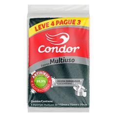 ESPONJA MULTIUSO LEVE 4 PAGUE 3 CONDOR