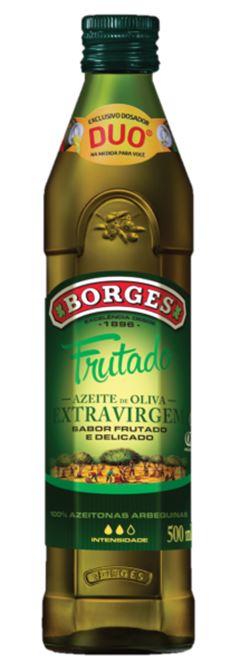 AZEITE EXTRA VIRGEM FRUTADO VIDRO BORGES