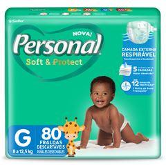 FRALDA HIPER G PERSONAL BABY