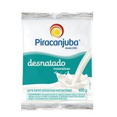 LEITE EM PÓ DESNATADO INSTANTÂNEO SACHÊ PIRACANJUBA
