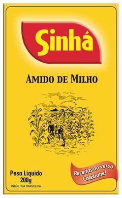 AMIDO DE MILHO CAIXA SINHÁ