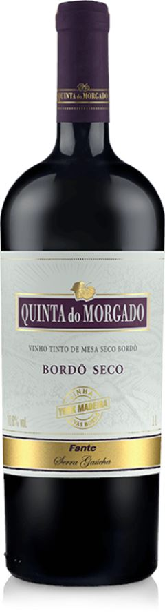 BEBIDA VINHO BORDÔ SECO QUINTA DO MORGADO