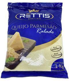 QUEIJO PARMESÃO RALADO RETTIS