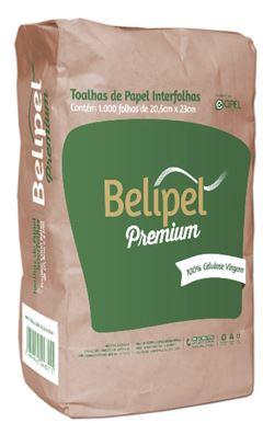 TOALHA DE PAPEL PREMIUM 20,5CM X 23CM BELIPEL