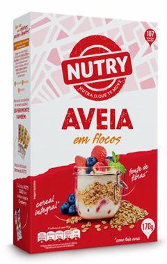 AVEIA FLOCOS CAIXA NUTRY