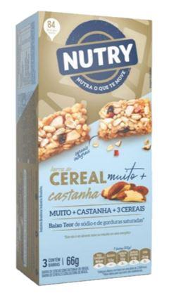 BARRA DE CEREAIS MUITO MAIS CASTANHA NUTRY