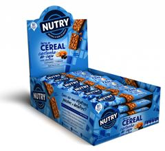 BARRA DE CEREAL CAJU COM CHOCOLATE NUTRY