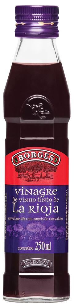 VINAGRE VINHO TINTO VIDRO BORGES