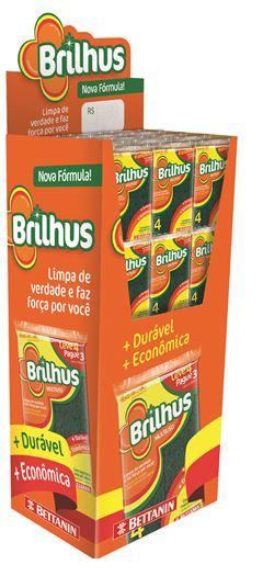 ESPONJA MULTIUSO LEVE 4 PAGUE 3 EXPOSIÇÃO BRILHUS