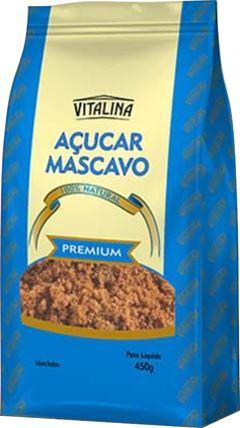 AÇUCAR MASCAVO VITALINA