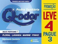 PEDRA SANITÁRIA SORTIDA LEVE 4 PAGUE 3 Q-ODOR