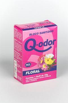 BLOCO SANITÁRIO REFIL FLORAL Q-ODOR