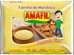 FARINHA DE MANDIOCA AMARELA FINA AMAFIL
