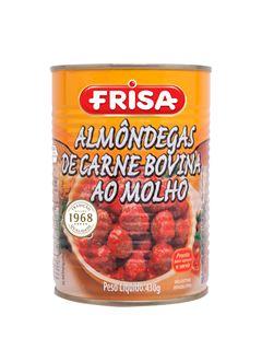 ALMÔNDEGAS AO MOLHO DE CARNE FRISA