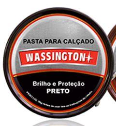 CERA PARA CALÇADO PASTA PRETO WASSINGTON