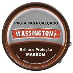 CERA PARA CALÇADO PASTA MARROM WASSINGTON
