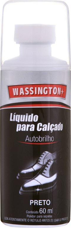 CERA PARA CALÇADO LÍQUIDA PRETO WASSINGTON