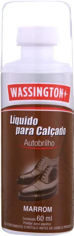 CERA PARA CALÇADO LÍQUIDA MARROM WASSINGTON