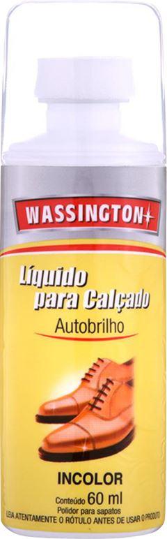CERA PARA CALÇADO LÍQUIDA INCOLOR WASSINGTON
