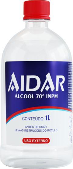 ÁLCOOL LÍQUIDO 70 INPM AIDAR