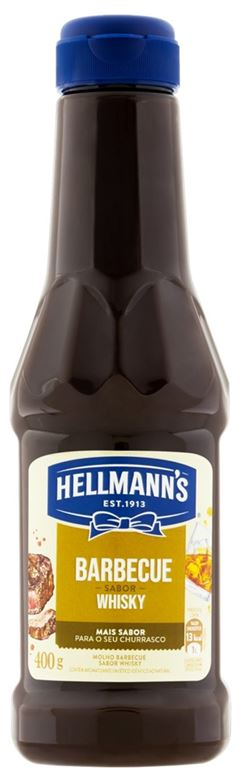 MOLHO BARBECUE WHISKY HELLMANN S