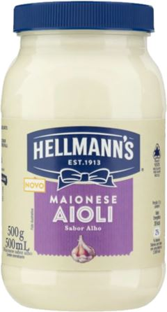 MAIONESE AIOLI ALHO HELLMANNS