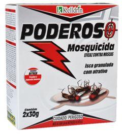 INSETICIDA MATA MOSCAS GRANULADA PODEROSO KELLDRIN