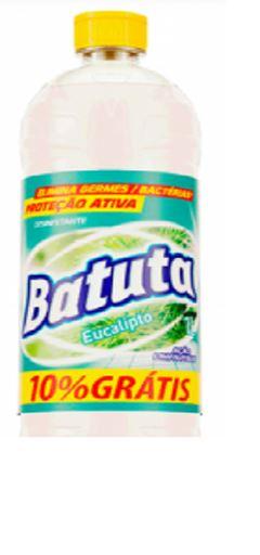 DESINFETANTE EUCALIPTO PAGUE 900ML LEVE 1LT BATUTA