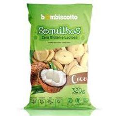 SEQUILHOS ZERO LACTOSE/GLÚTEN COCO BOMBISCOITO