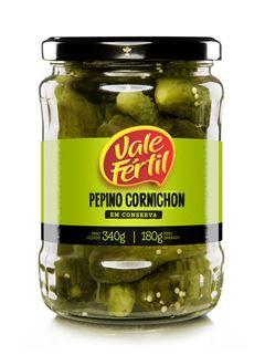 PEPINO CORNICHON VIDRO VALE FÉRTIL