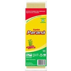 ESPETO BAMBU 25CM X 3MM PARANÁ