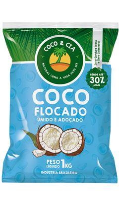 COCO FLOCOS UMIDO ADOÇADO COCO&CIA