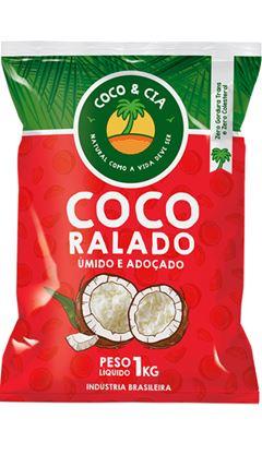 COCO RALADO UMIDO ADOÇADO COCO&CIA