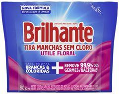 TIRA MANCHAS PÓ SEM CLORO FLORAL SACHÊ UTILE BRILHANTE
