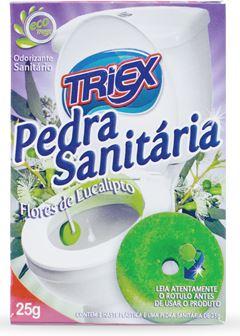PEDRA SANITÁRIA FLORES TRIEX