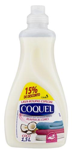 LAVA ROUPAS LÍQUIDO COCO 15% DESCONTO COQUEL